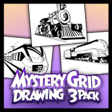 Mystery Grid Three-Pack 17 - Trains