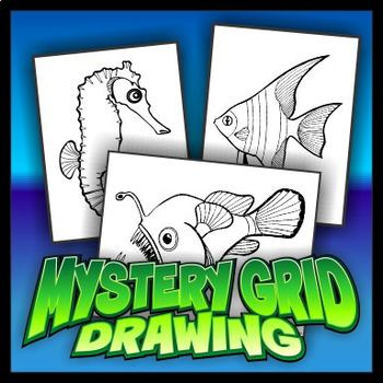Mystery Grid Three-Pack 18 - Fish