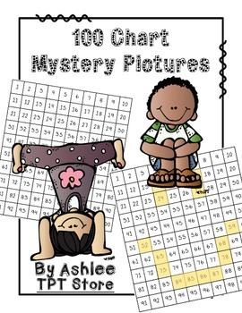 Mystery Hundred Chart Pictures [Place Value]