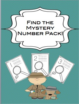 Mystery Identifying Numbers Pack