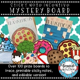 Mystery Incentive Prize Board *Editable*