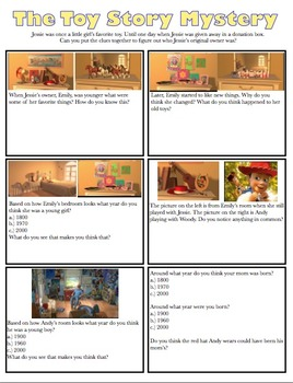 Mystery Inferencing Toy Story
