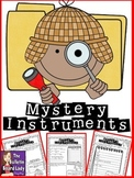 Mystery Instruments-Music Workstation/Center to Identify Instruments
