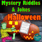Mystery Jokes & Riddles Halloween jokes for kids