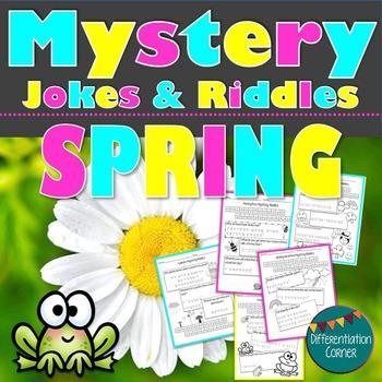 Mystery Jokes & Riddles {Spring Themed}