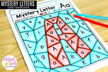 Mystery Letter (Letter Identification)