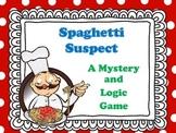 Mystery  Game - Spaghetti Suspect
