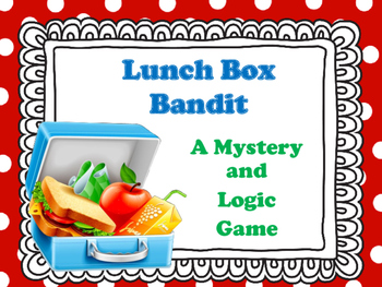 Mystery Game - The Missing Lunches
