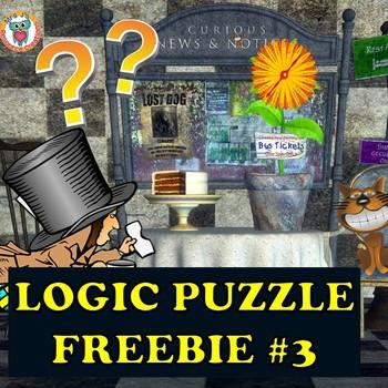 Mystery Logic Puzzle FREEBIE #3