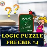 Mystery Logic Puzzle Freebie #4