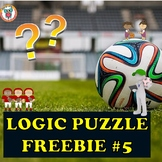 Mystery Logic Puzzle Freebie #5
