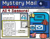 Mystery Mail - Early inferencing activities - All 4 Seasons!