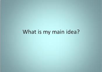 Mystery Main Idea