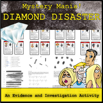 Mystery Mania - Diamond Disaster