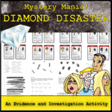 Mystery Mania - Diamond Disaster (Evidence and Investigation Review Game)