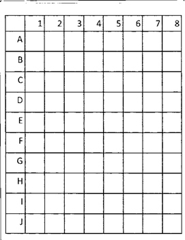 Mystery Mario Bomb Grid Drawing
