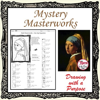 Mystery Masterworks - Girl with a Pearl Earring - Vermeer