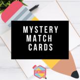 Mystery Match Cards