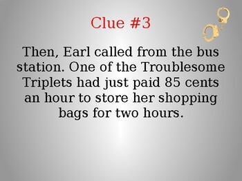 Mystery Math Activity