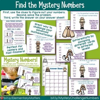 Mystery Math Challenge Bundle