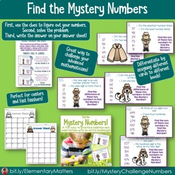 Mystery Math Challenge Bundle