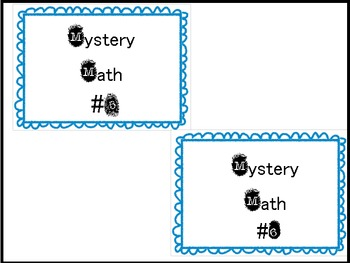 Mystery Math Game {Subtraction}
