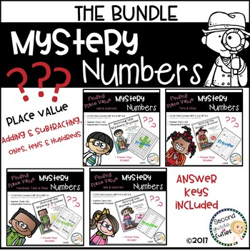 Mystery Math Numbers Bundled