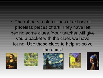Mystery Math Power Point Presentation - Problem solving