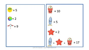 10 Pages of Different Mystery Math Puzzles