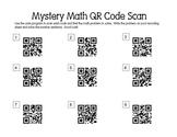 Mystery Math QR Scan Codes