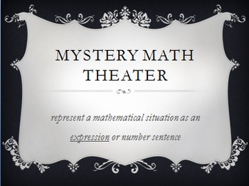 Mystery Math Theater