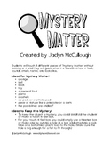 Mystery Matter Experiments!