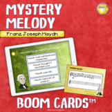 Mystery Melody Franz Joseph Haydn Distance Learning Boom Cards