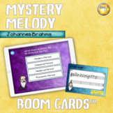 Mystery Melody Johannes Brahms Distance Learning Boom Cards