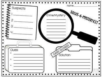 Mystery Book Activities
