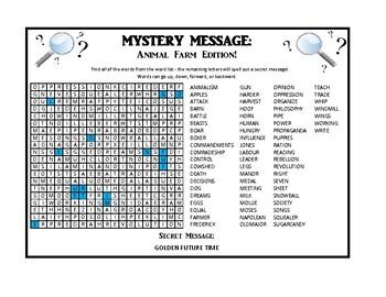 Mystery Message - Animal Farm