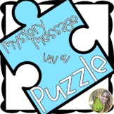 Mystery Message in Puzzles | Distance Learning Mail