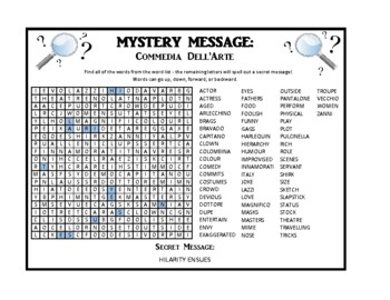 Mystery Message - Drama