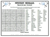 Mystery Message - Intro to Shakespeare!