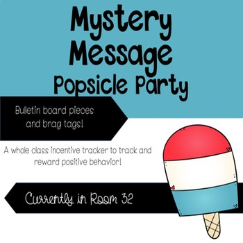 Mystery Message Popsicle Party