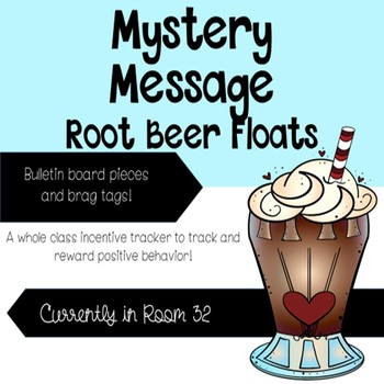 Mystery Message Root Beer Floats