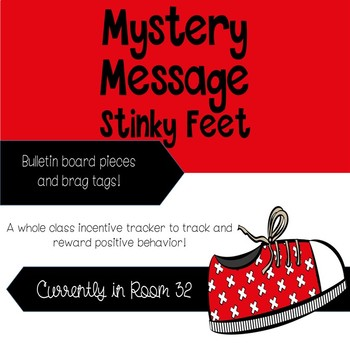 Mystery Message Stinky Feet