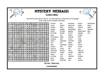 Mystery Message - Theatre Production