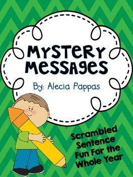 Mystery Messages-Mix and Fix Sentences For Your Classroom