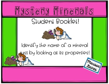 Mystery Mineral Book