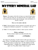 Mystery Mineral Identification Lab