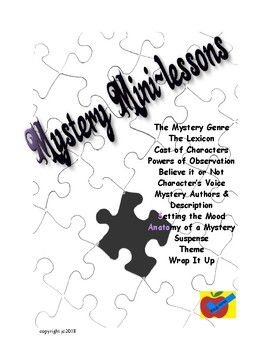 Mystery Mini Lessons for Guided Reading