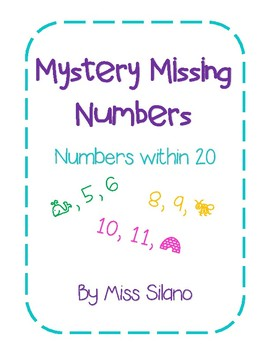 Mystery Missing Number Worksheets