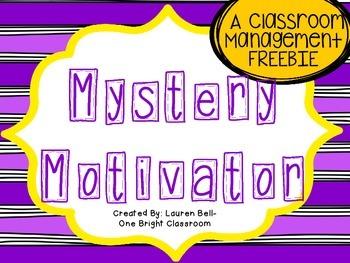 Mystery Motivator {FREEBIE}