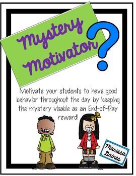 Mystery Motivator Whole Class Incentive